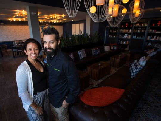 Valeria Zanella Voisin and Benjamin Voisin are two of the owners of Gather in Cape Coral.