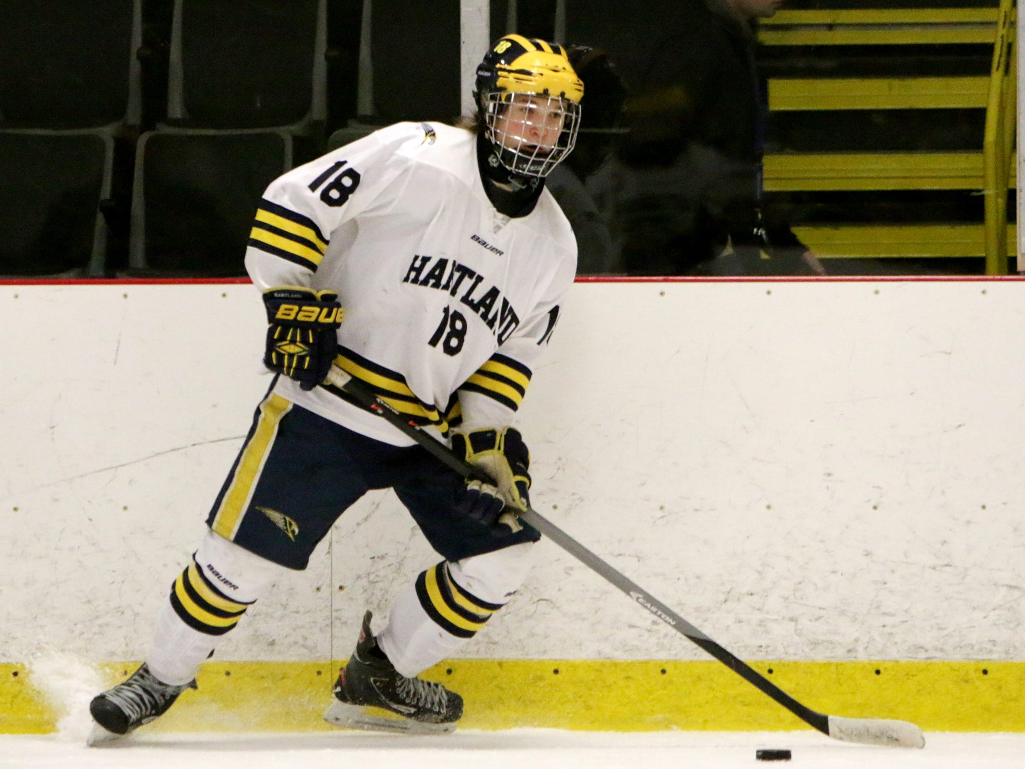 Nathan Lipon had a big weekend, getting a hat trick against Trenton on Friday and two more against Hancock on Saturday.