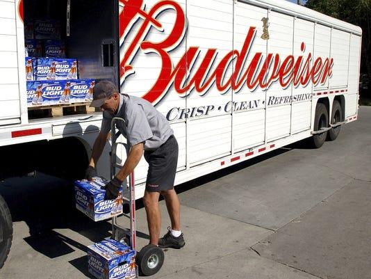 Title: Budweiser truck