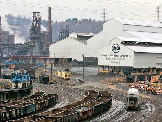 US Steel idles two plants, lays off 750