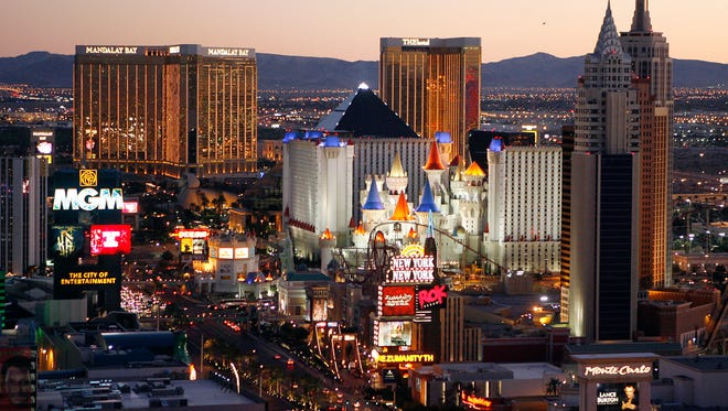 Tourism officials said 42 million people visited Las Vegas in 2015, an all-time record for Sin City that continues to recover from the hard-hitting recession of several years ago.