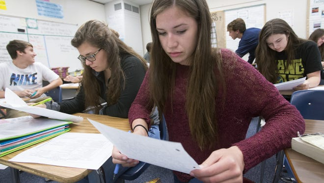 Gulf Breeze High School is one of the schools in Santa Rosa County with a higher number of students than projected for this school year. The high school tops all schools in the county with 53 more students than projected.