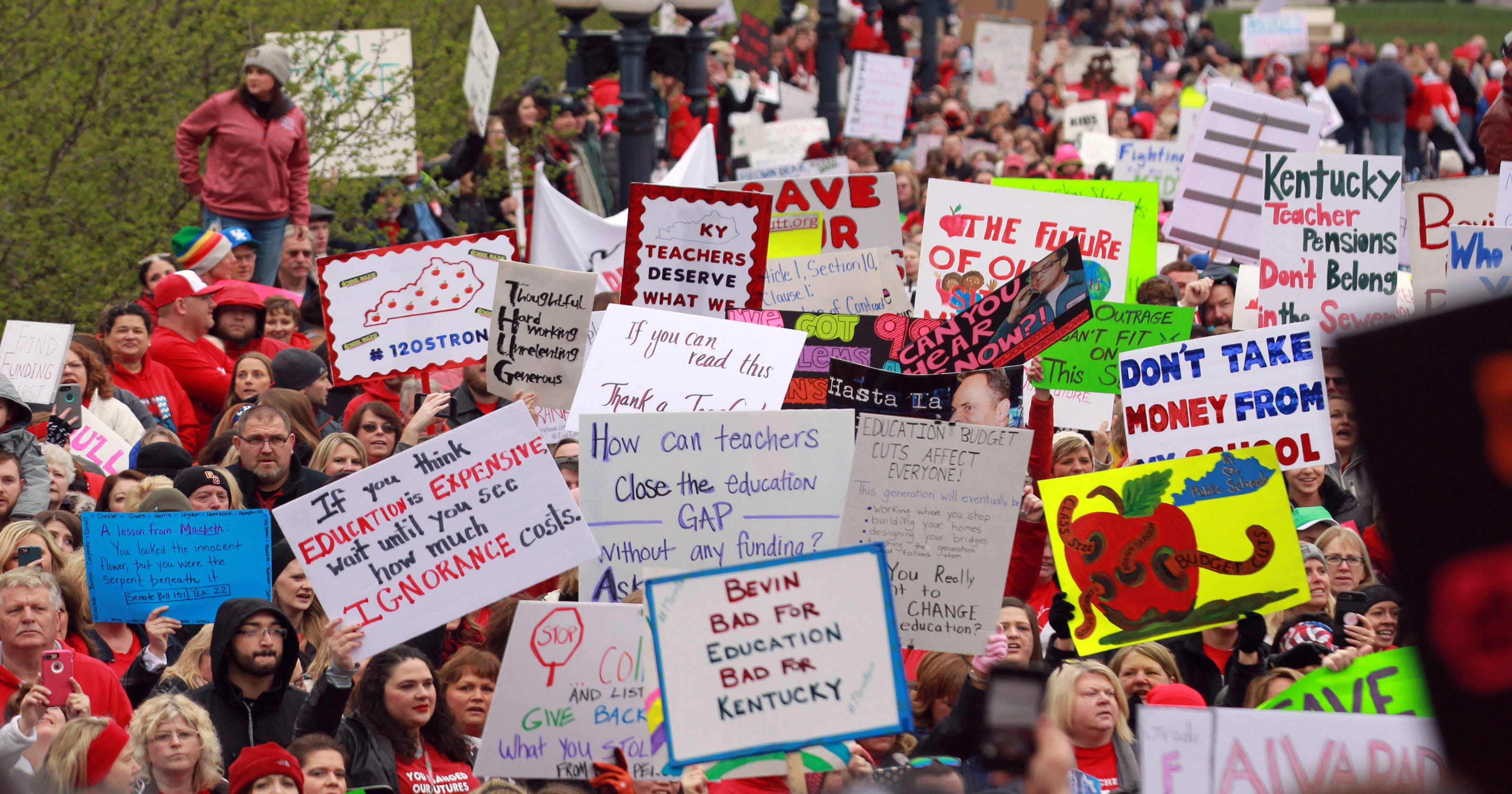 Education Issues At Stake As Senate >> Kentucky Election 2019 Teachers May Be Key In Governor S Race