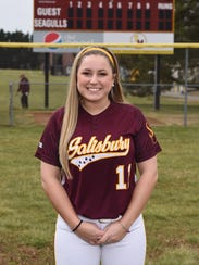 Salisbury University women's softball player Molly