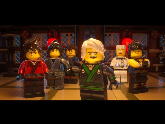 The super-squad of 'The Lego Ninjago Movie': Kai (from