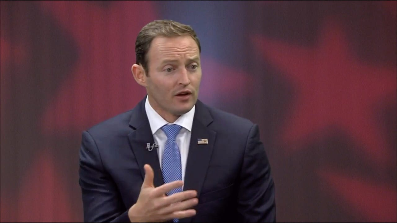 U.S. Rep. Patrick Murphy answers questions from TCPalm's Eve Samples