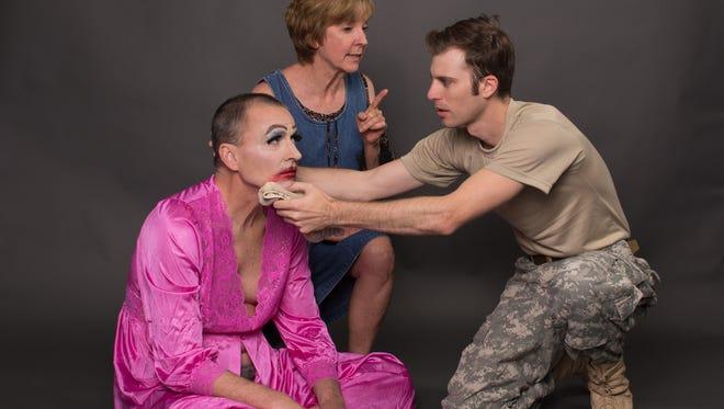 "Gary David Keast, Cathy Dresbach and Andy Cahoon in ""Hir."""