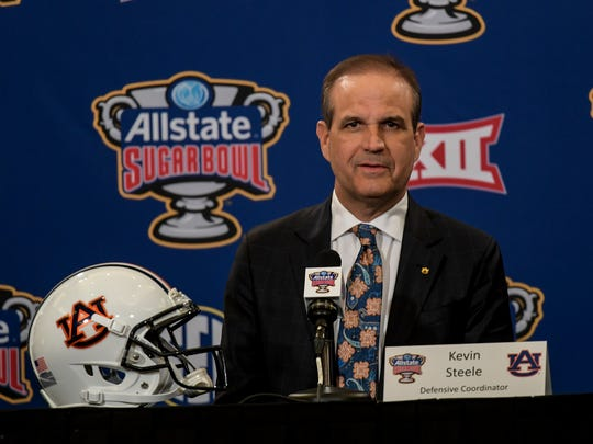 Auburn defensive coordinator Kevin Steele on Friday,