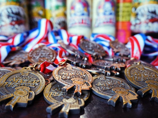 Iron Hill Brewery & Restaurant has won 45 medals at the Great American Beer Festival, setting a record for a craft breweries with a win in 20 consecutive years.
