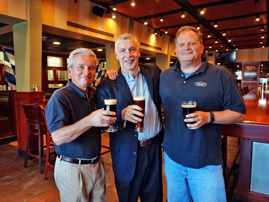 Iron Hill Brewery & Restaurant founders (from left)