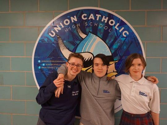 Union Catholic juniors Shaun Keating, and William Walto