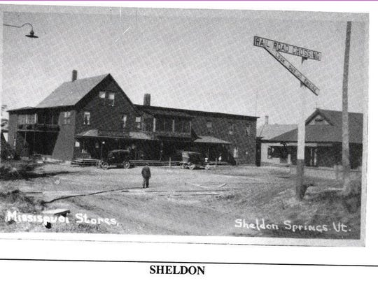 Sheldon Springs RR and company store