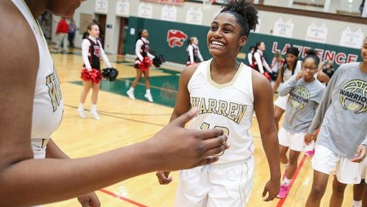 Shaila Beeler of Warren Central was named a core Junior All-Star.