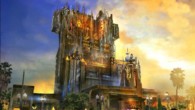 In Guardians of the Galaxy – Mission: Breakout! at Disney California Adventure, the quirky stars of the Marvel movies will be taking up residence in the Tower of Terror.