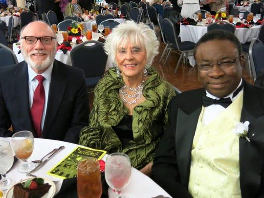 Bobby Darrow, Shirley Enani, Robert Alford at Little