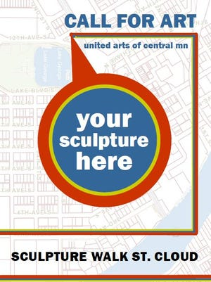 United Arts of Central Minnesota is looking for artists who want to participate in a large-scale sculpture walk set to be unveiled this summer.