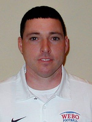 Jed Richman, new Pendleton Heights football coach