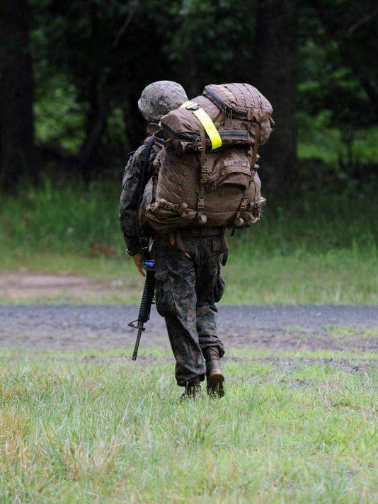 Marines' combat test period ends without female grad
