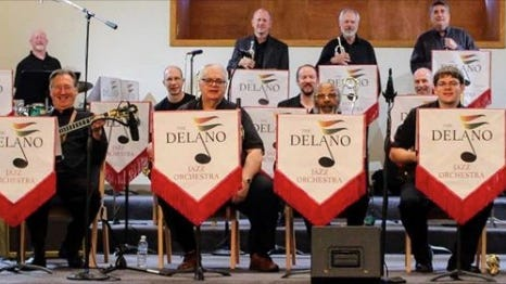Delano Jazz Orchestra features some of the state's finest musicians.