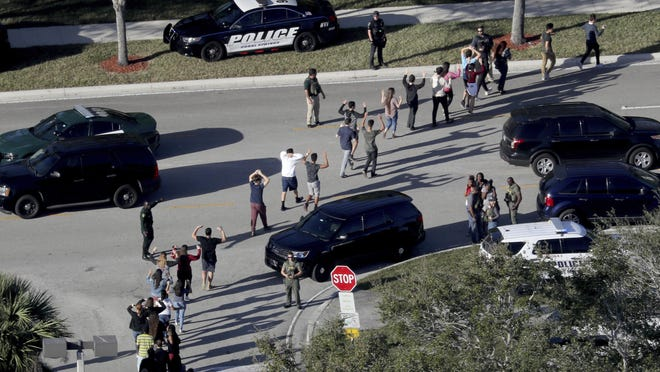 A shooter killed 17 people last week at Marjory Stoneman Douglas High School in Parkland, Florida.