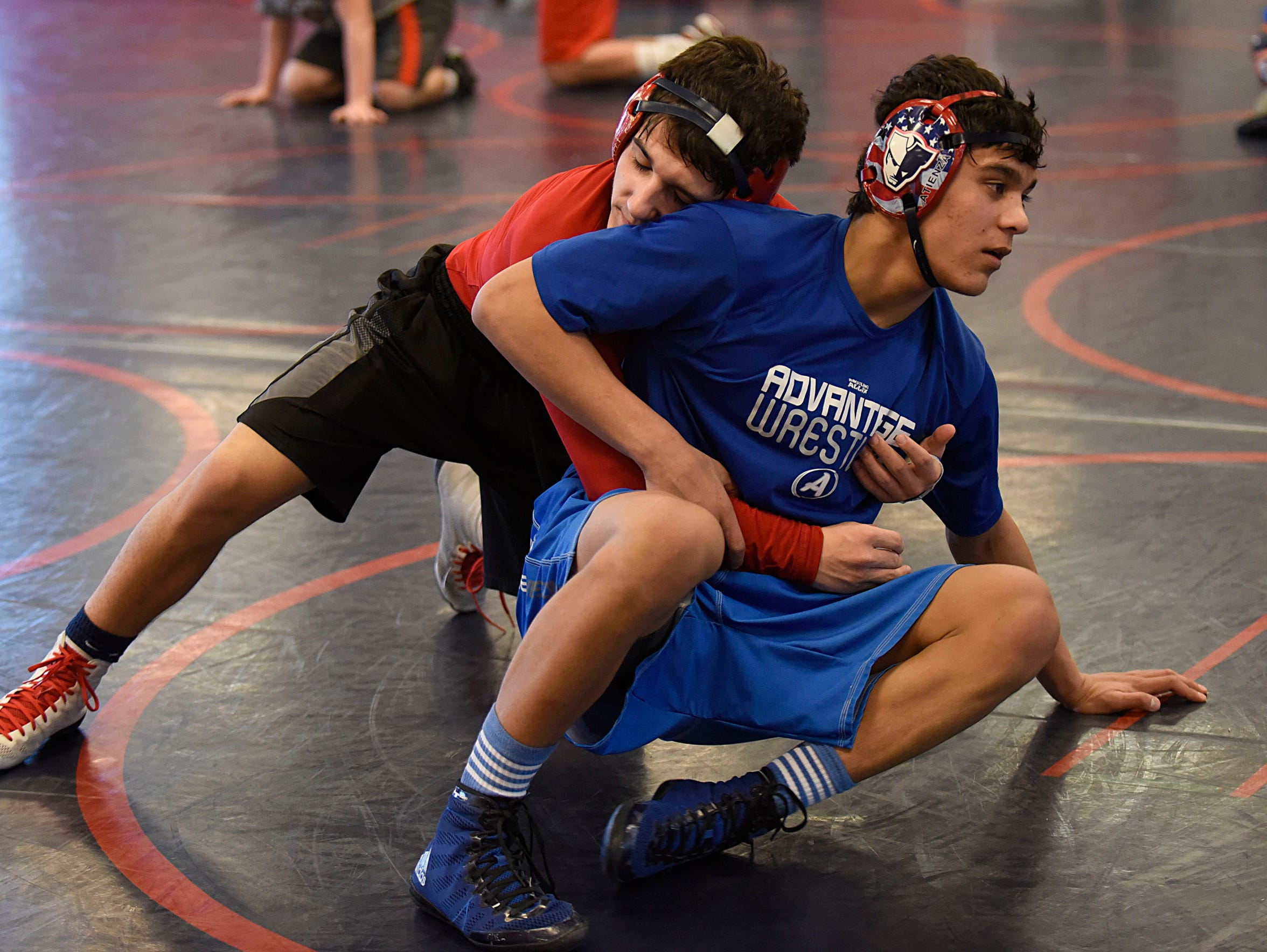 Practices give wrestlers such as Livonia Franklin's