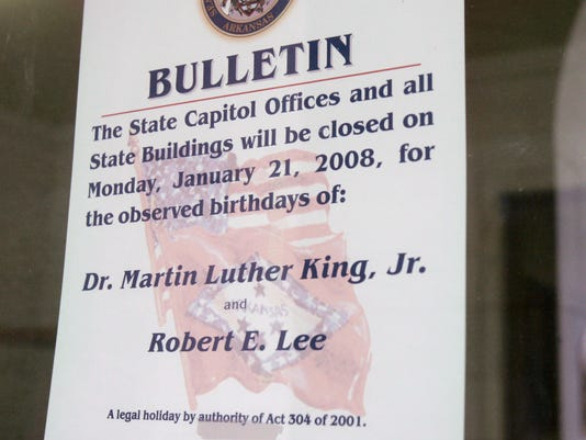 Robert E Lee MLK Day