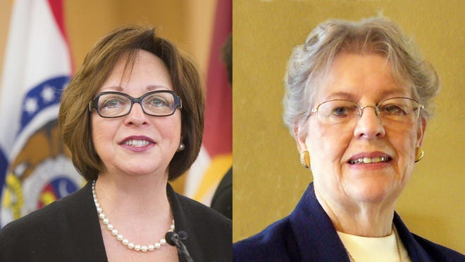 Sara Lampe and Donna Bergen will face off in the Democratic primary for the Greene County Presiding Commissioner's seat.