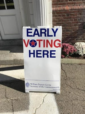 Town Council approved an early voting measure on Sept. 20 that will allow voters to cast ballots on Oct. 25-29 at Town Hall before the Nov. 2 town election. [File Photo]