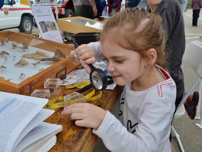 Families had the opportunity to learn about science,