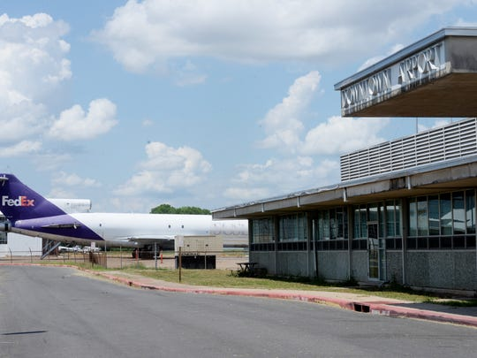The Shreveport Downtown Airport.