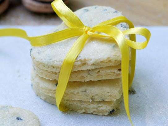 Lavender shortbread cookies are a sweet celebration