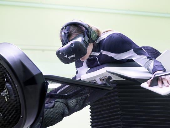"Birdly, a ""full body virtual reality flight simulator,"""