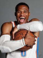 Oklahoma City's Russell Westbrook.