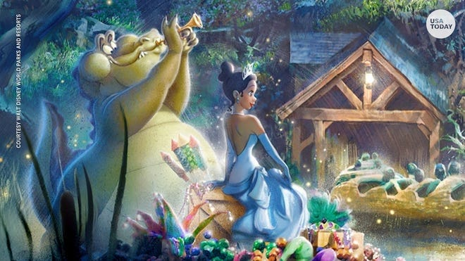 "Amid a national push to rethink racist stereotypes in popular culture, Disney is giving its Splash Mountain attraction a new theme based on its 2009 film ""The Princess and the Frog"" and centered on Disney's first Black princess."
