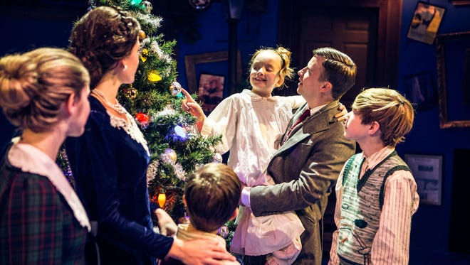 """Studio Tenn presents """"It's a Wonderful Life"""" Dec. 3-20 at Jamison Hall in The Factory at Franklin."""