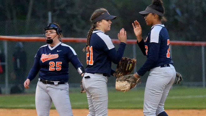 Blackman's softball team will battle 7-AAA rivals Riverdale (Tuesday) and La Vergne (Thursday).