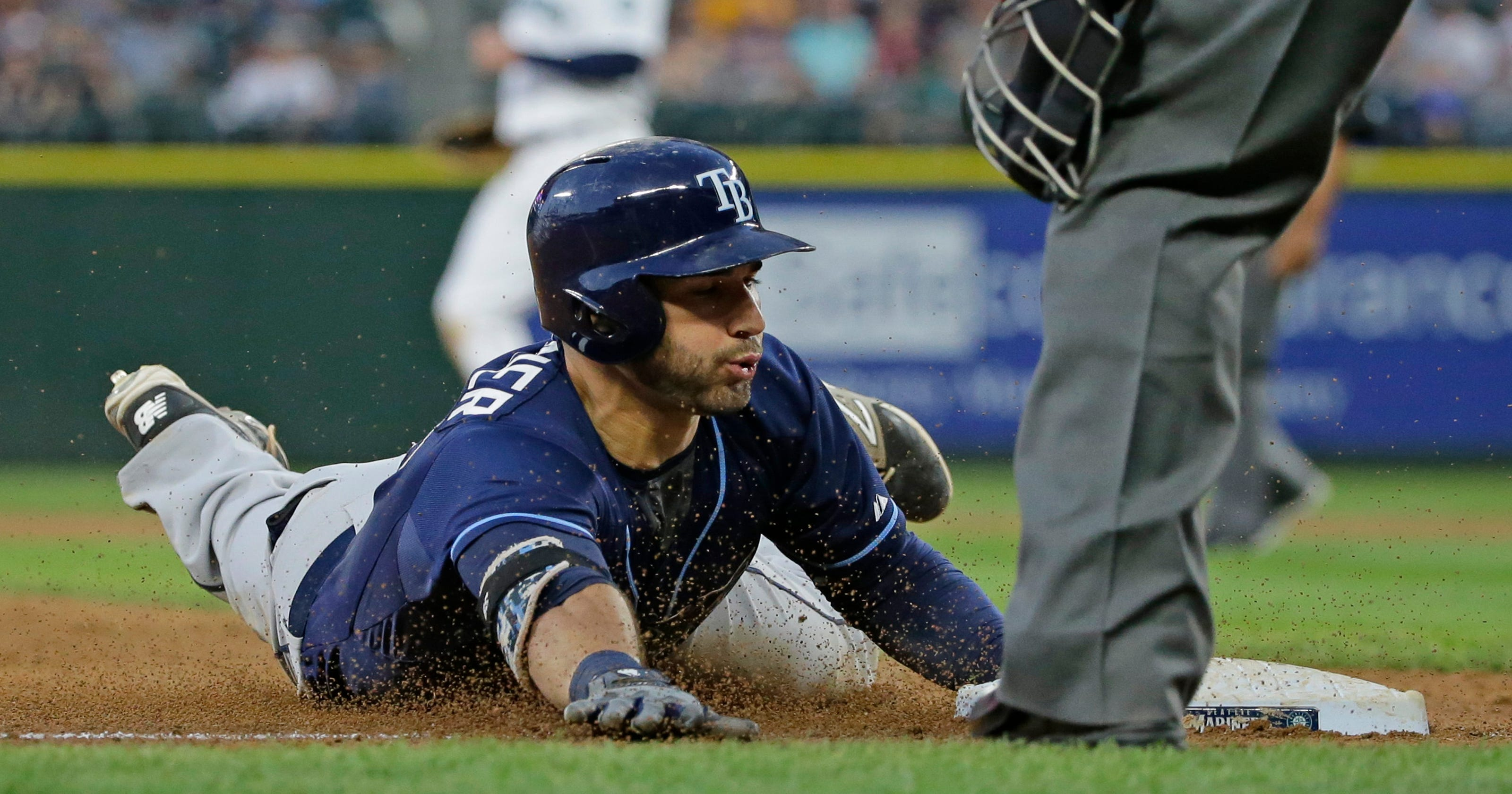 dc0c26ce Rays can't solve Felix Hernandez, lose to Mariners 2-1
