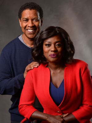 Denzel Washington and Viola Davis reprise their Broadway roles in the film adaptation of 'Fences.'