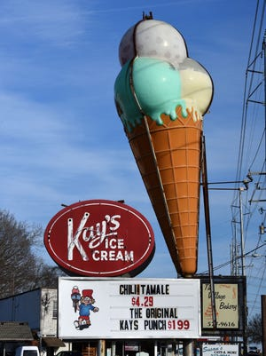 Jim Brackett, a part owner of Kay's Ice Cream, said Wednesday, Dec. 27, 2017 that the last location, on Chapman Highway, will close Dec. 31.