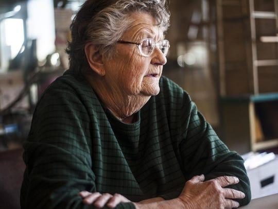 Ellen Rae Thiel, vice president of Boulder's Heritage