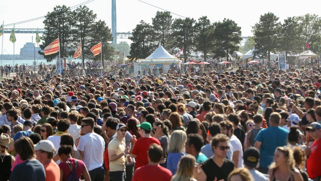 Attendance at last year's Mo Pop in West Riverfront Park was 25,000. Organizers are expecting 30,000 this year.
