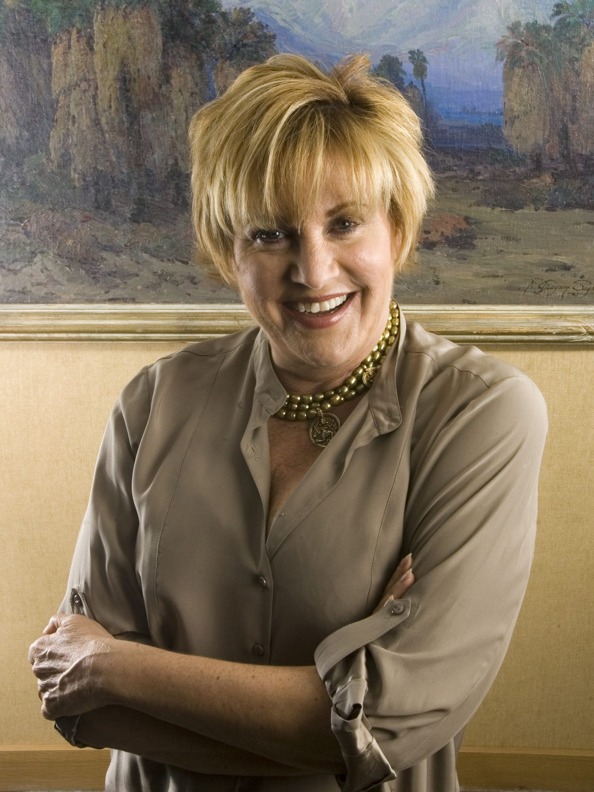 Lorna Luft, photographed at The Living Desert in Palm Desert.