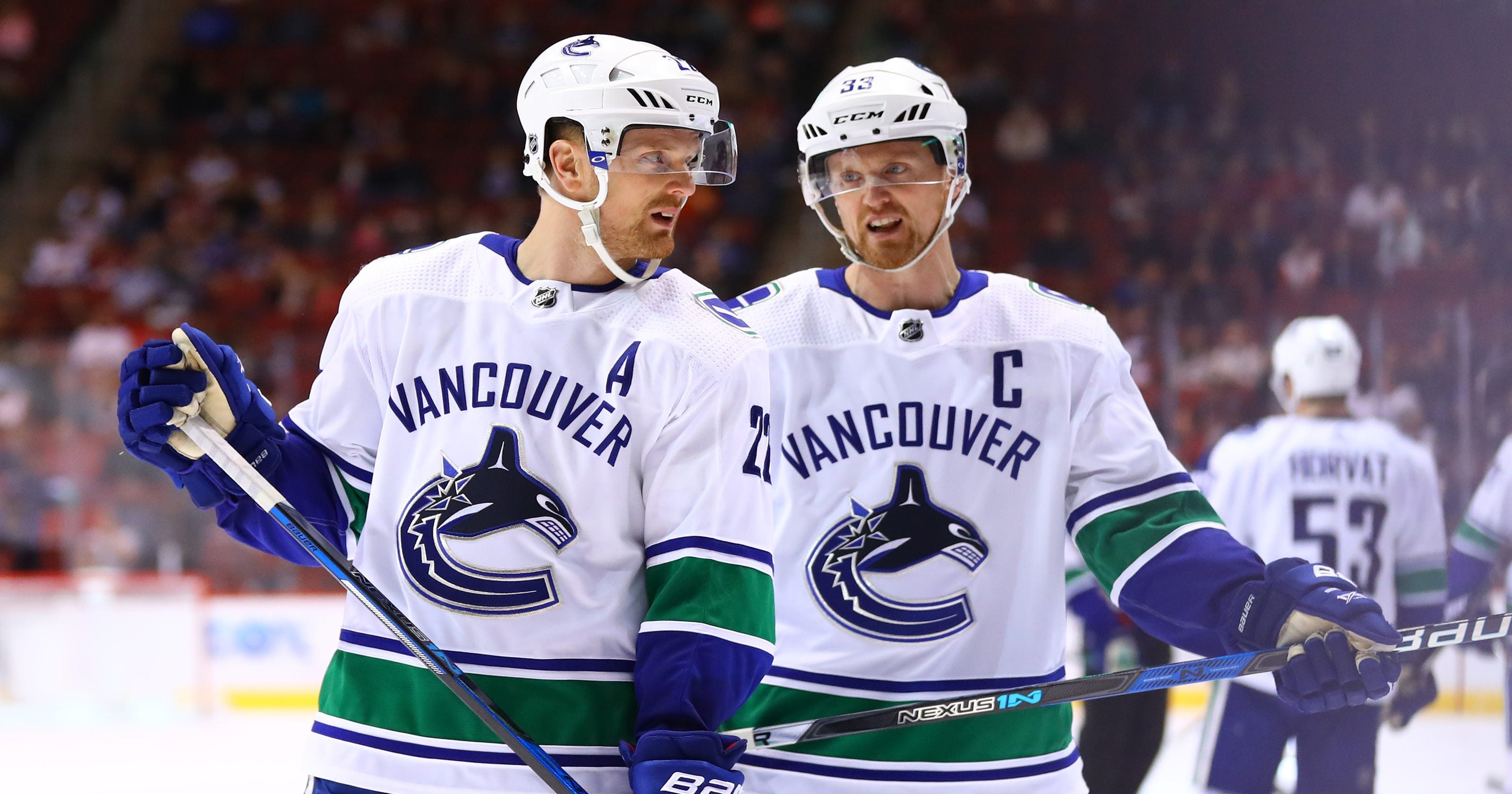 Henrik Daniel Sedin Canucks Icons Announce Retirement