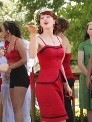 Rust-O-Rama's pin-up contest features both modern and traditional styles.