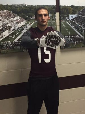 Missouri State's Peyton Huslig has been awarded the starting quarterback position for the Bears.