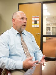 Chuck Hughes has been named the new superintendent