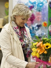Cindy McConkey Cox is the new national director of marketing and communications for Knoxville-based Random Acts of Flowers. (Photo by Ali James/Special to the News Sentinel)
