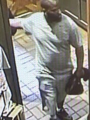 Mount Laurel police are seeking this man in connection with an alleged pickpocket incident at a township restaurant.