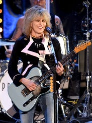 Chrissie Hynde of The Pretenders performs in December