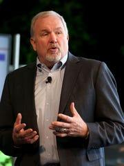 John Mendel, Executive VP of Honda of America, introduces